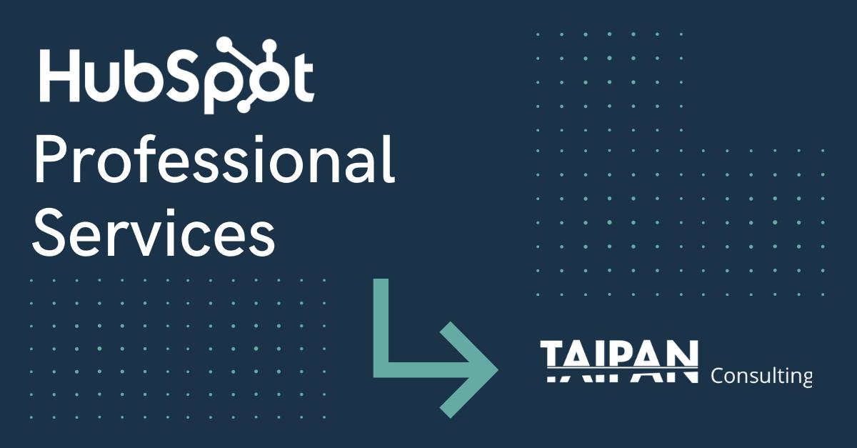 CTA_HubSpot Professional Services_Taipan Consulting
