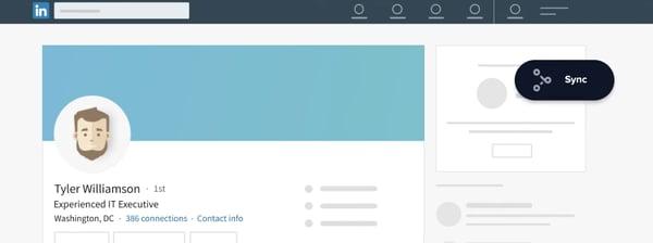 LinkedHub Integration Sync Funktion