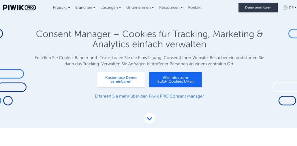 Piwik Pro Cookie Consent Manager Service